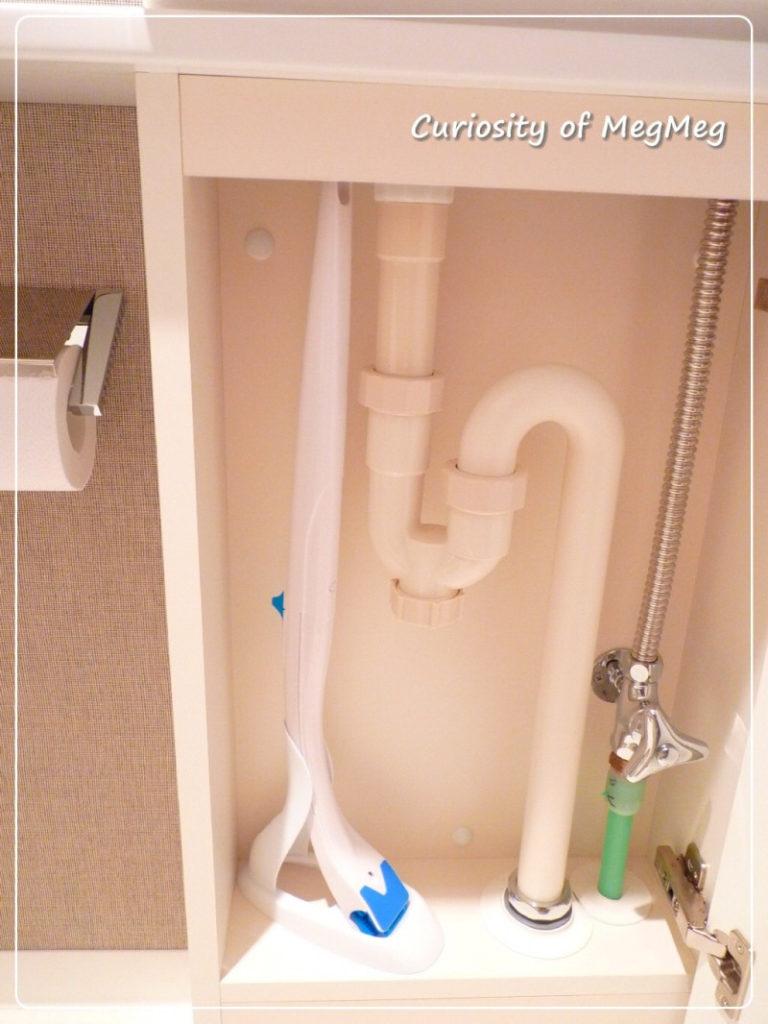 トイレの掃除道具の収納
