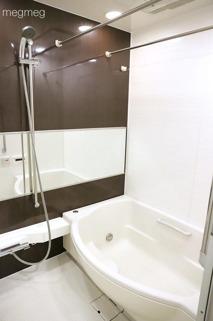 お風呂には洗剤だけ置く