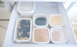 冷蔵庫収納ー乾物