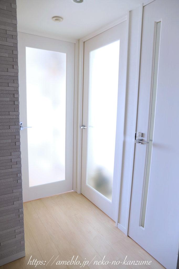 玄関のドア、アフター