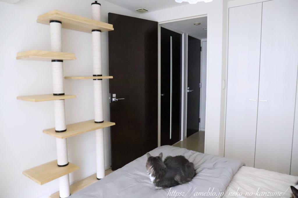 寝室のドア、ビフォー