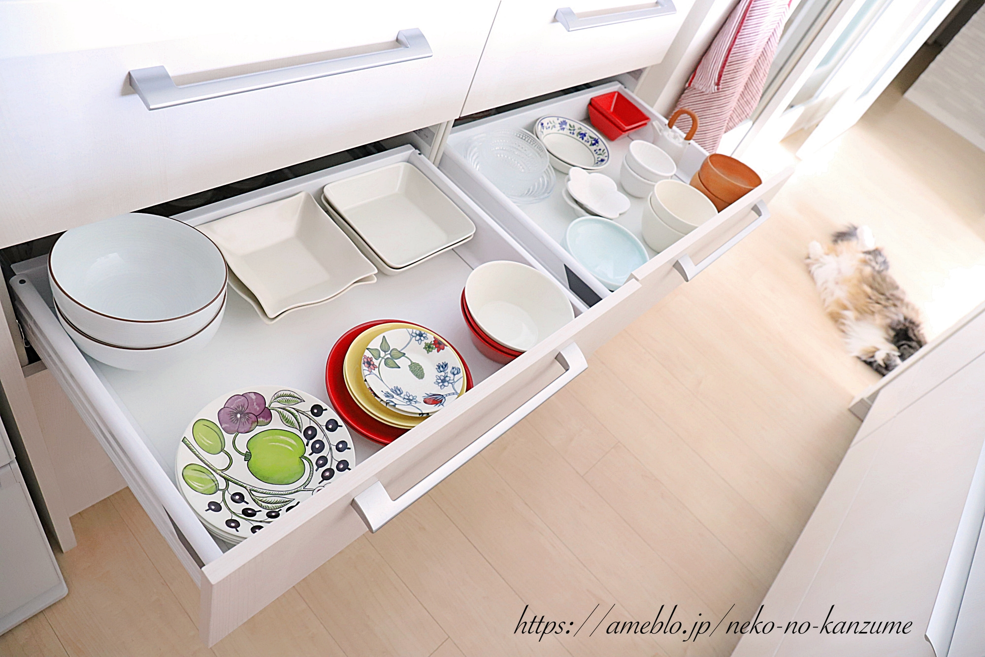 Cupboard storage tips