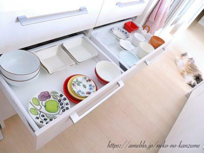 食器棚スッキリ収納術