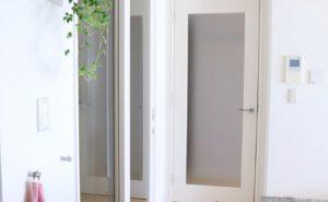 【マンションリフォーム】室内ドアを白に交換