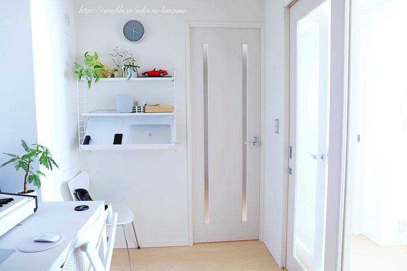 書斎のドア、アフター