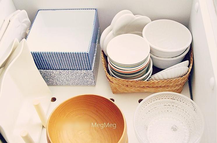 小皿の収納