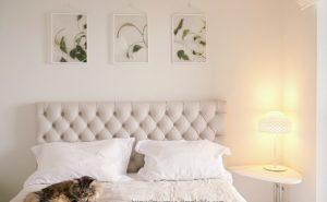 寝室に飾ったポスター