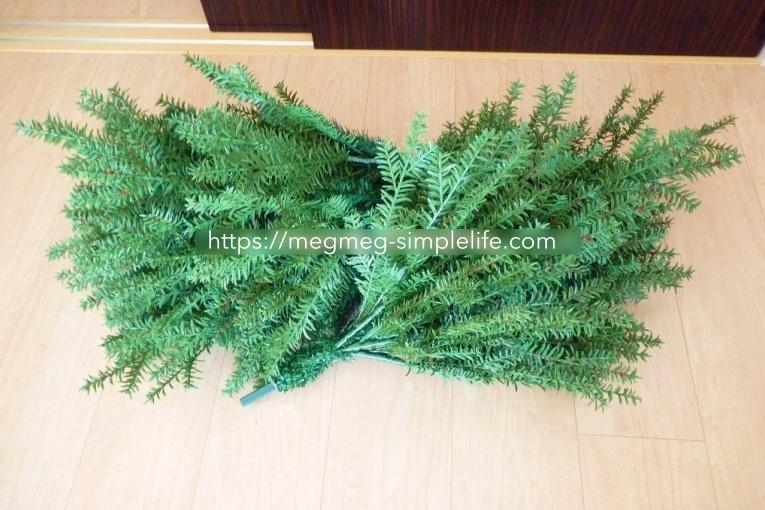 クリスマスツリーの収納