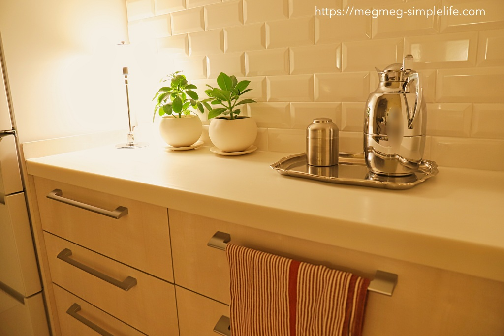 キッチンの間接照明