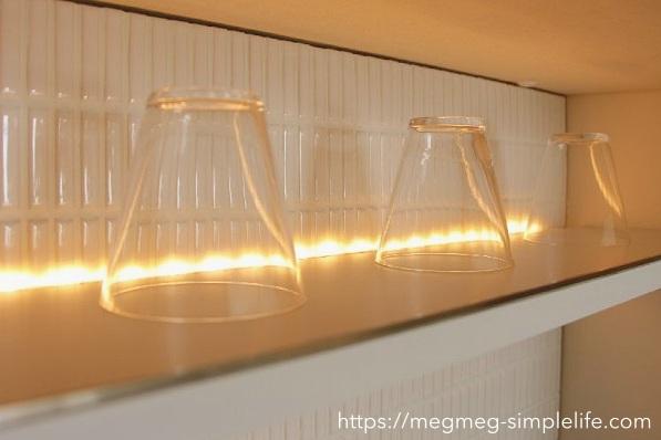 IKEAのLEDライト