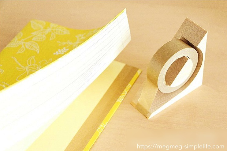 紙袋や包装紙をリメイク