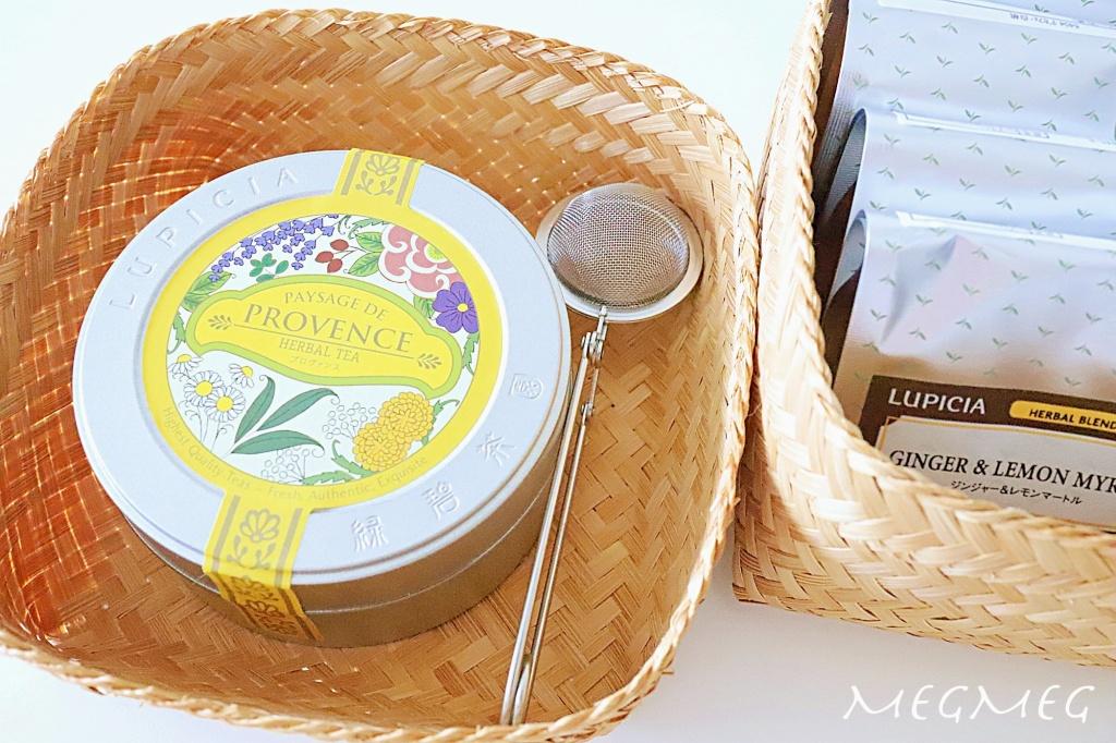 紅茶のセットを作る
