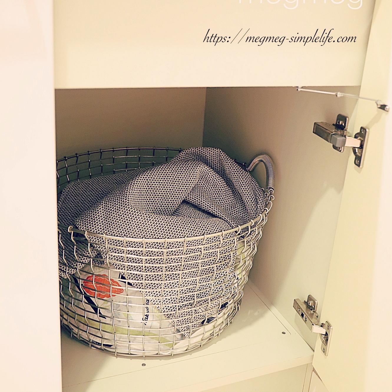 洗面所シンク下収納のコツ